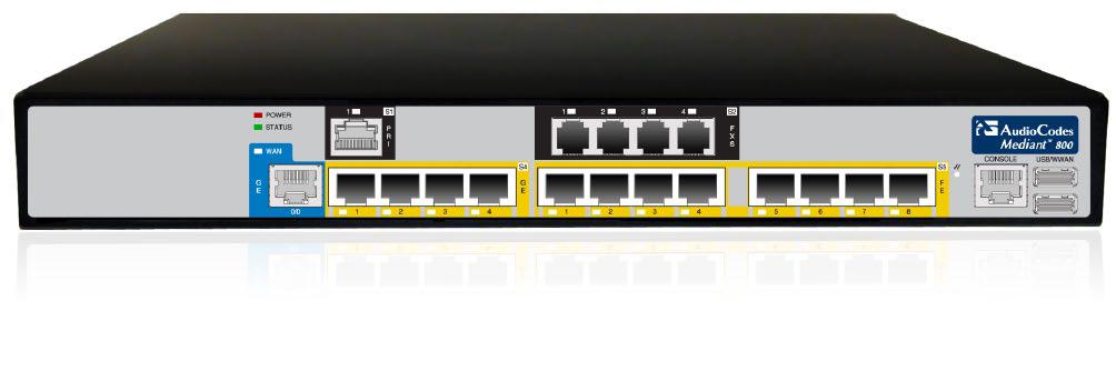 audiocodes session border controllers SBC VoIP TDM IP media gateways